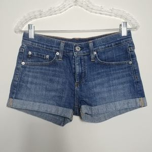 Adriano Goldschmied ▪ Pixie Roll-up Jean Shorts
